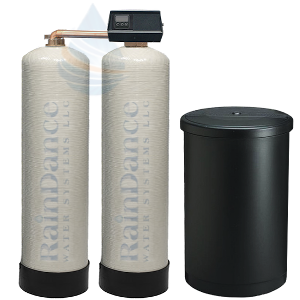 100gpm twin water softeners