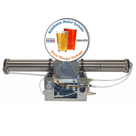 1500gpd reverse osmosis craft brew water system