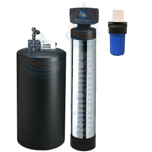 Iron bacteria filters for whole house well water treatment.