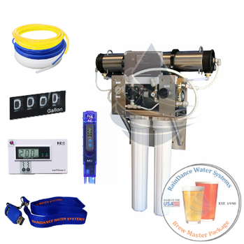 800gpd reverse osmosis system for craft beer makers